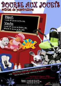 bourse aux jouets et puéri Janvier 2014